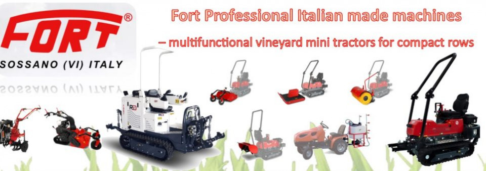 Fort Multi-Functional Mini Tractors