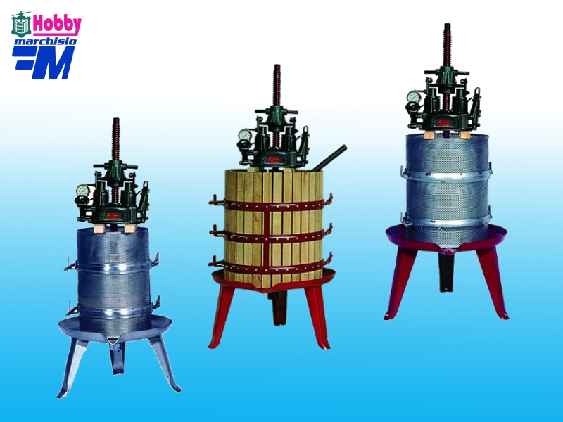 Hydraulic Basket Press