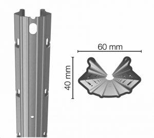 Comavit Baccus Steel Vineyard Post Dimensions