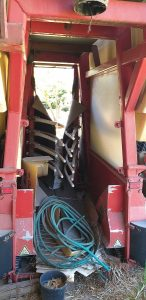 ALMA Second Hand Grape Harvester
