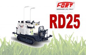 Fort RD25 Mini Tractors for Compact Rows