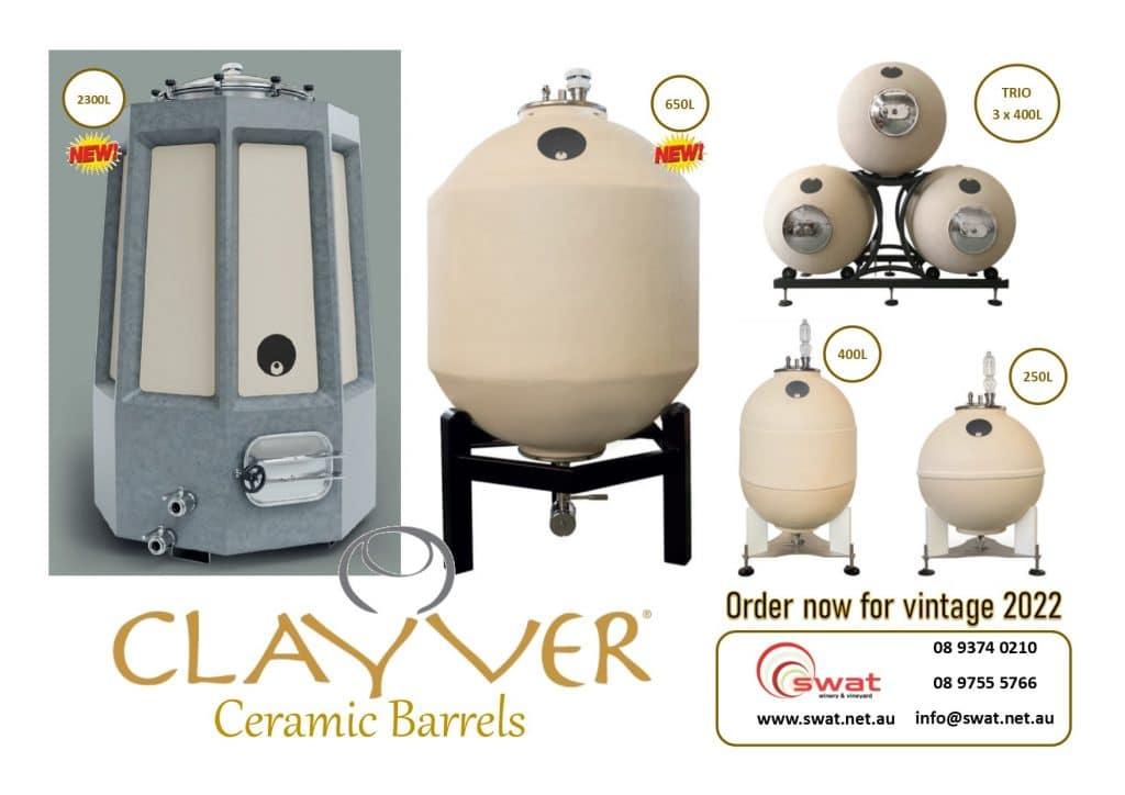 Clayver Ceramic Barrels